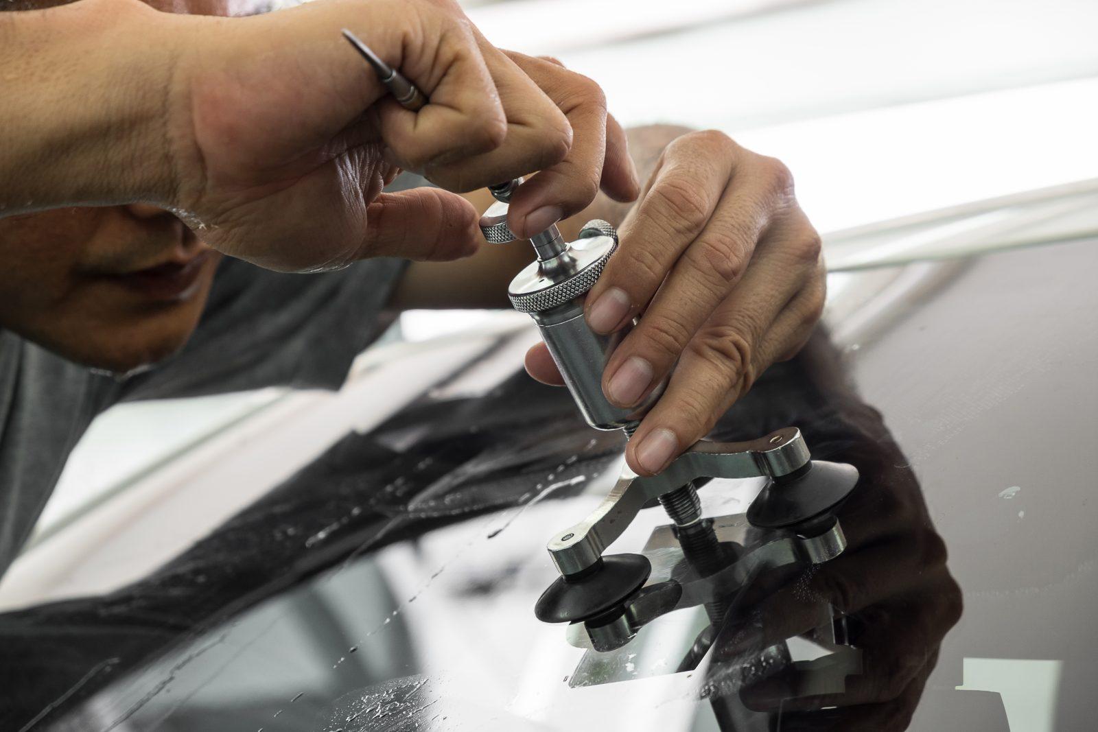 reparation bilglas