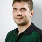 glarmester Jesper Nielsen i trøje